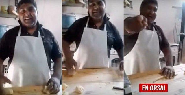 """Video : El panadero que quiere que vuelva Cristina , canta """"No hay nada más difícil que vivir sin tí"""""""