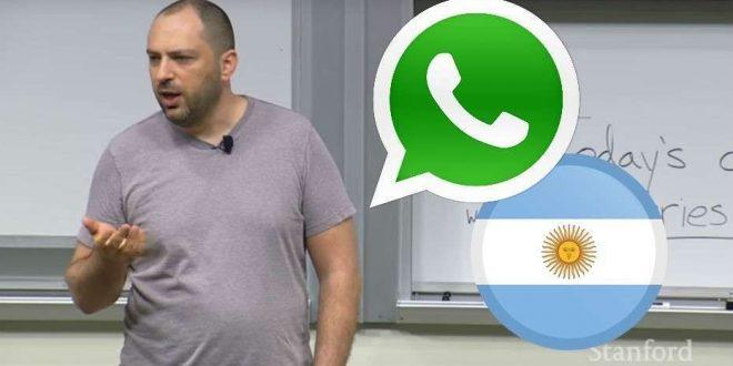 El creador de WhatsApp se inspiró en Argentina. Enterate como fue