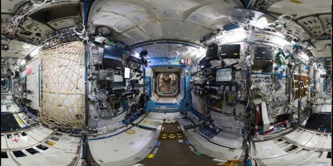 Video: La Estación Espacial Internacional en 360º.