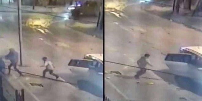 El video del intento de secuestro a un nene de 9 años