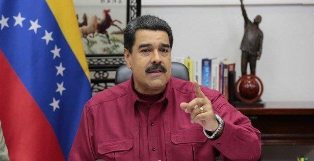 """Maduro dkce que Venezuela sería """"liberada con armas"""""""