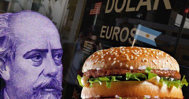 Según el índice Big Mac , a cuanto debería estar el dólar en Argentina según el índice Big Mac