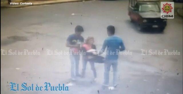 Video: Un ladrón mata a su complice por accidente
