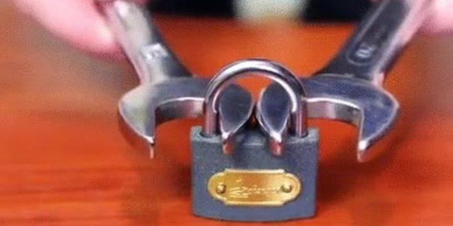 Como abrir un candado sin la llave