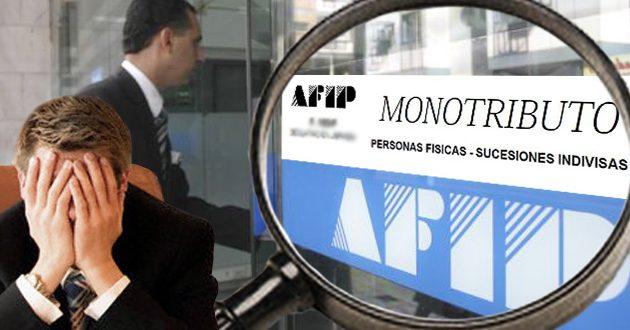Como controla la AFIP a los monotributistas