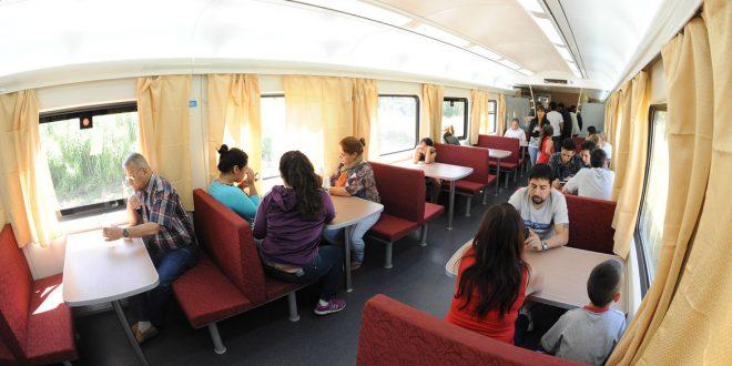 Cuánto cuesta comer en el tren a Mar del Plata