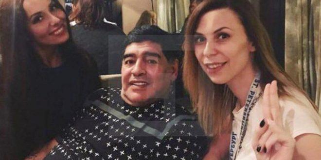 Video: El mensaje de la periodista rusa para Maradona que acusó de haberla acosado sexualmente.