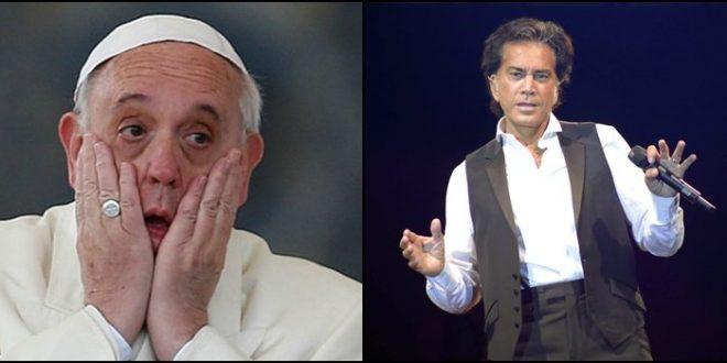 """El puma Rodriguez criticó al Papa """"Su silencio me asombra, y lo hace cómplice de las muertes pasadas""""."""