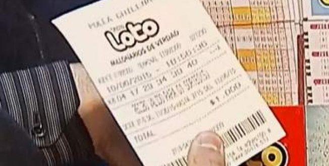 Ganó más de 530 millones de pesos en el Loto