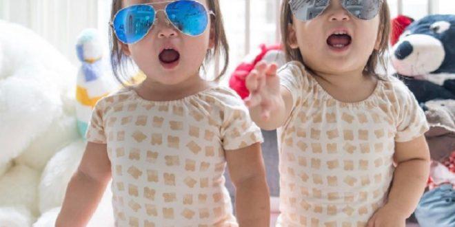 Las gemelas que son furor en Instagram