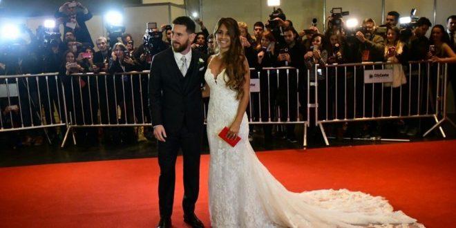 EN VIVO : La boda de Lionel Messi y Antonela Roccuzzo