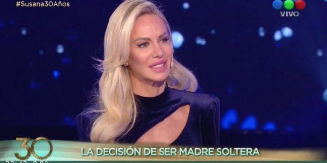 Luciana Salazar dió detalles de su maternidad