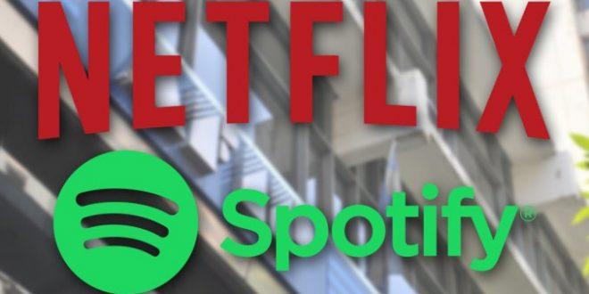 Netflix y Spotify pagaran impuestos en Argentina