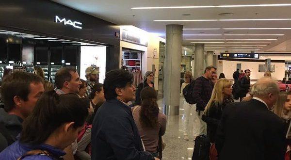 Video: Nuevo Escrache a Zannini en un shopping