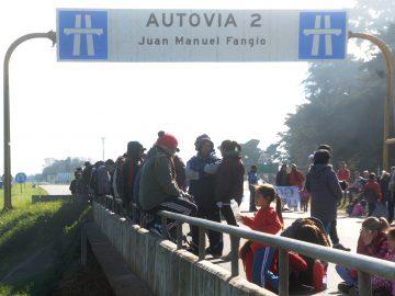 Protocolo anti piquete en Mar del Plata