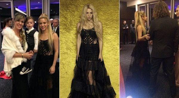 La razon por la que Shakira fue tan desarreglada a la boda de Messi