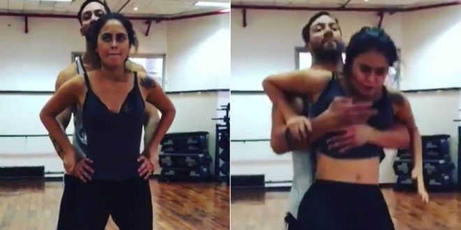 Video: Silvina Luna se hizo pis encima en un ensayo
