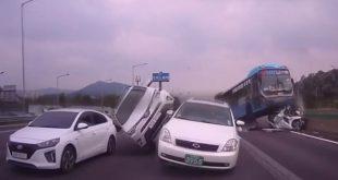 Video: Parece una pelicula pero es un tremendo accidente real