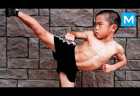 Video: El nene de 7 años que quiere ser el próximo Bruce Lee