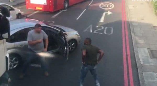 Video: Tremenda pelea callejera en Londres