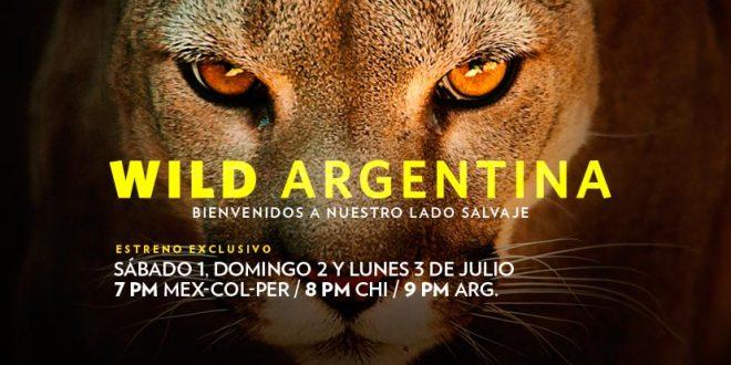 """MIRÁ EN VIVO EL ESTRENO DEL DOCUMENTAL """"WILD ARGENTINA"""""""
