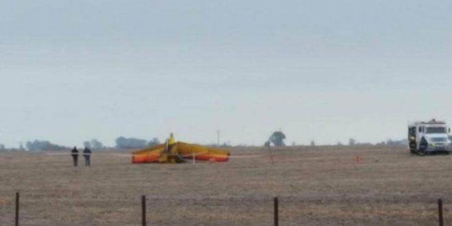 Cayó una avioneta ultraliviana en Pehuajó