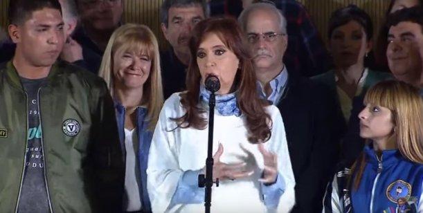 Video en vivo : El cierre de campaña de Cristina Kirchner #PASO2017
