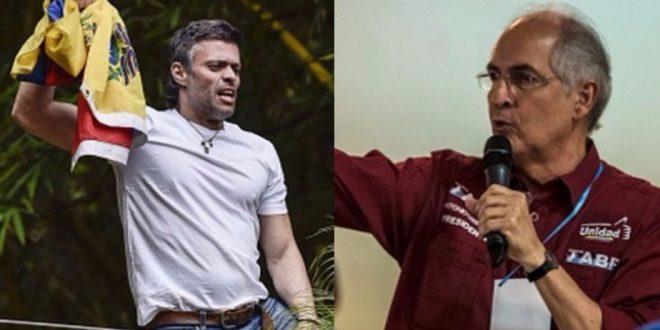 Leopoldo López y Antonio Ledezma estan en una prisión militar