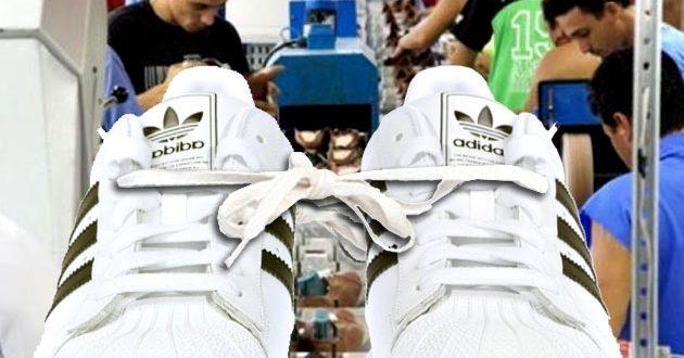 Trabajadores de Adidas regalarán 2 mil pares
