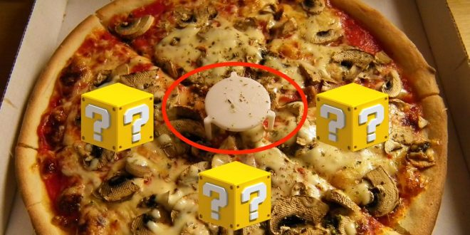 Se llama guardapizza, aquí su historia