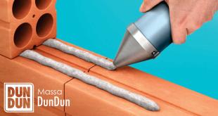 Nuevo adhesivo permite a un albañil y a un ayudante levantar 2.500 ladrillos en un día