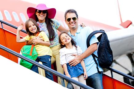 Vuelos baratos y tips para disfrutar vacaciones en familia