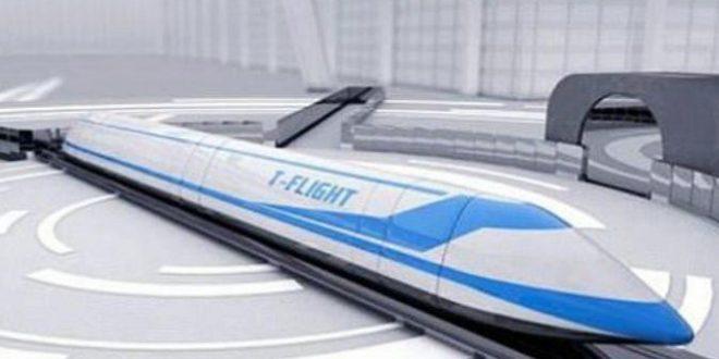 China creará un tren volador que quintuplicará la velocidad de los aviones