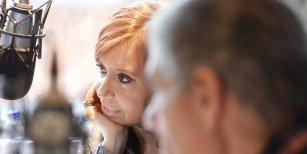 Las frases de Cristina Kirchner en su charla con Víctor Hugo
