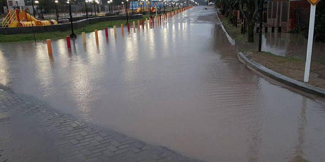 Martín Yeza gastó millones en una plaza que se inunda en Pinamar