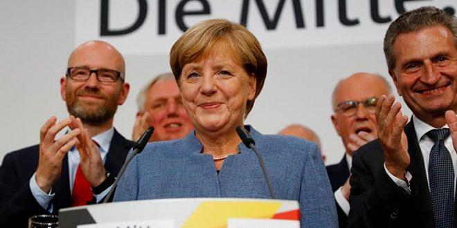 Merkel: Somos el partido más fuerte