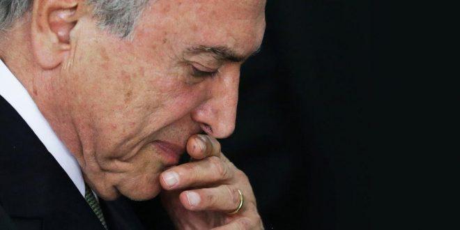 Temer es el presidente más impopular de la historia de Brasil