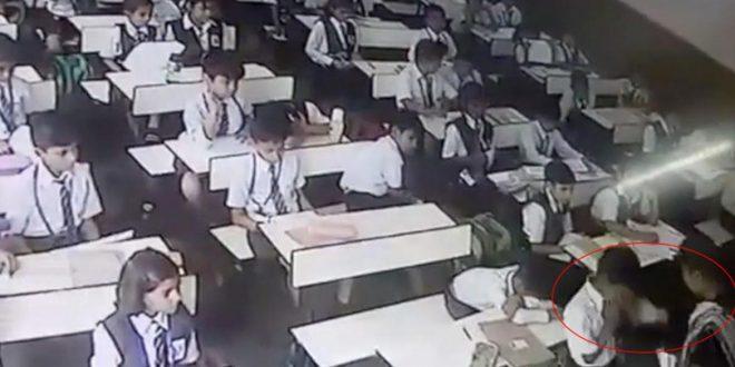 Video: La violencia de una maestra hacia su alumno de 7 años