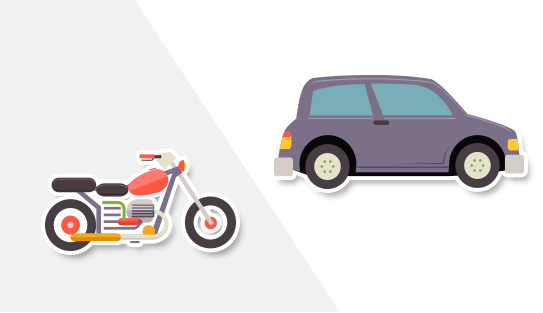 Auto o moto: el dilema de quienes desean adquirir su primer vehículo