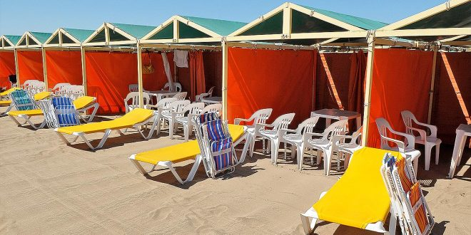 Alquilar una carpa este verano en Mar del Plata costrá entre $ 20.000 y $ 55.000