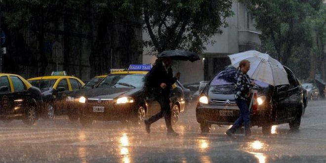 Alerta meteorológica para Buenos Aires y centro de la Argentina