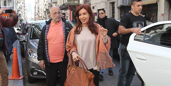 Cristina Kirchner otra vez no votó y evitó hablar de Santiago Maldonado