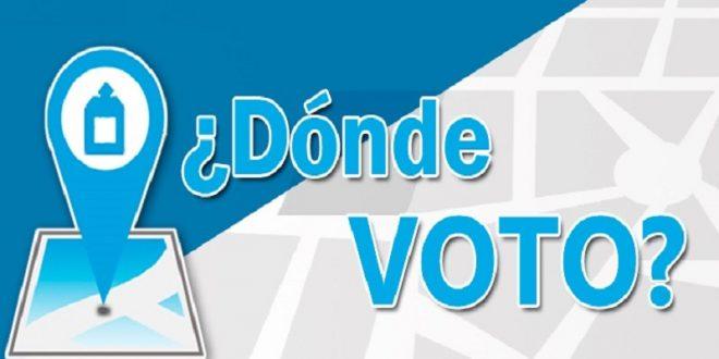 Como saber dónde votar en las Elecciones del 22 de octubre