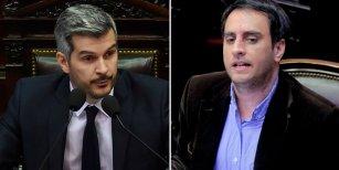 El cruce de Marcos Peña con Juan Cabandié por el caso Santiago Maldonado