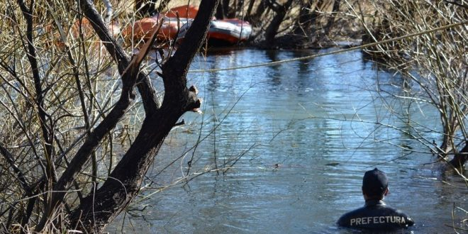 El cuerpo encontrado en el río Chubut tenía el DNI de Santiago Maldonado