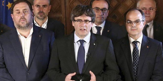 El gobierno de Cataluña proclamó la victoria del SI en el referéndum