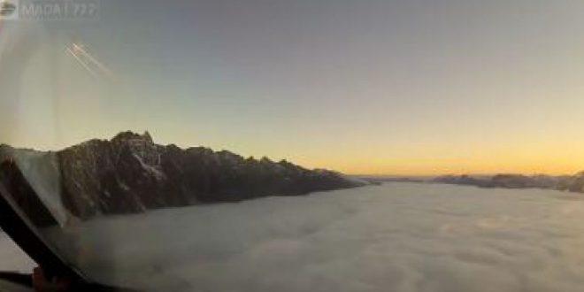 Impresionante video: Esto es lo que ve un piloto de avion que los pasajeros no ven
