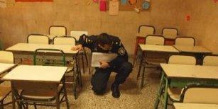 Gendarmería dormirá en las escuelas para evitar las amenazas de bomba en las elecciones del Domingo