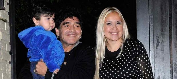 Internaron a Dieguito Fernando Maradona