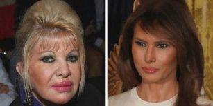 La insólita polémica que abrió Ivana Trump contra Melania: Yo soy la primera dama